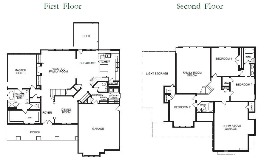 Kensington Park 2 Floor Plans