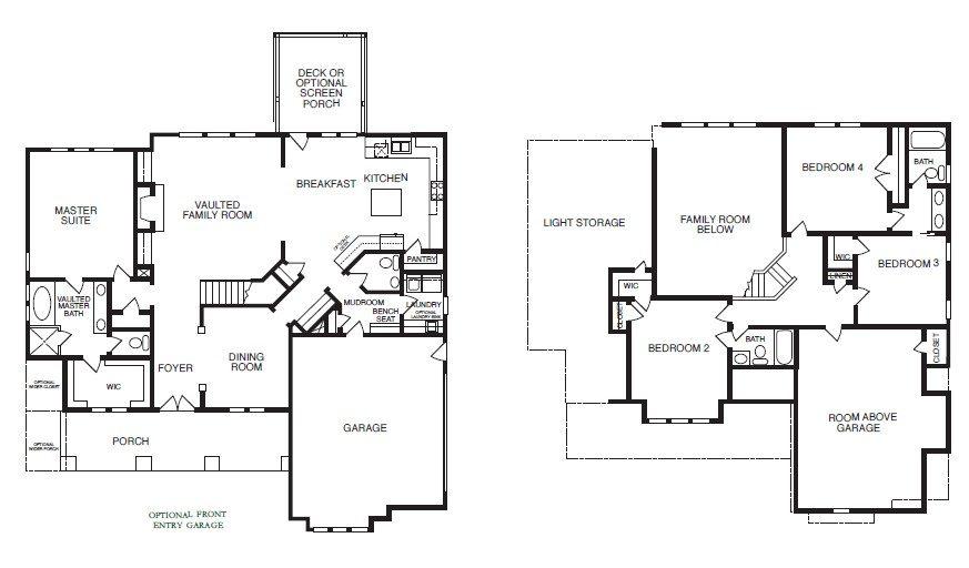 Kensington Park Floor Plans