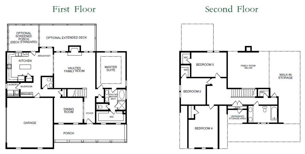 Meridian Floor Plans