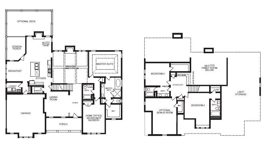 Piedmont Park Floor Plans