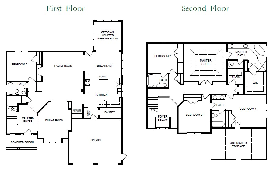 Sagamore Floor Plans