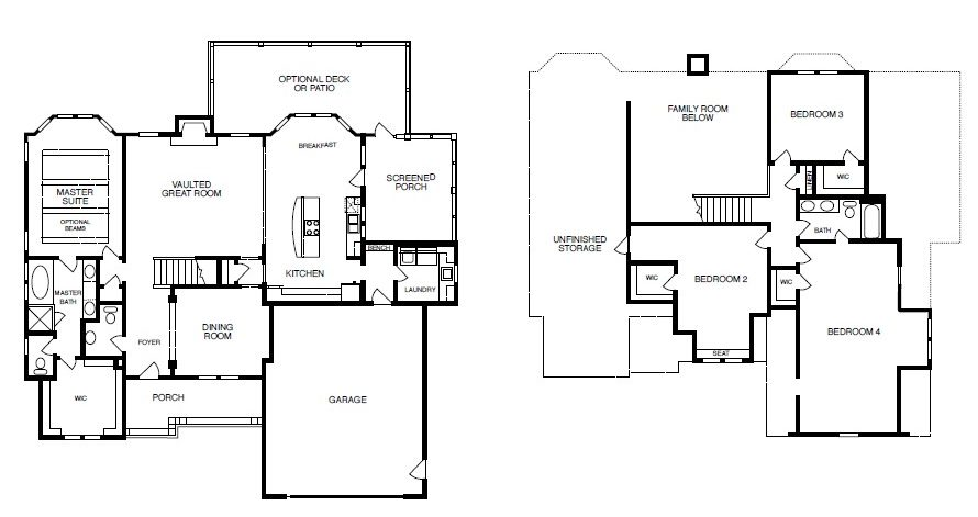 Springmill Floor Plan