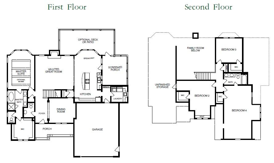 Springmill Floor Plan