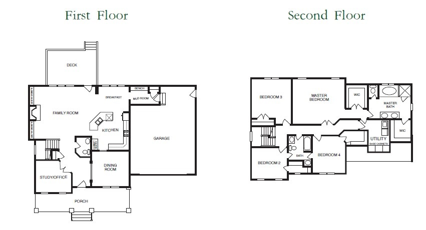 Windsor Floor Plans 1+2