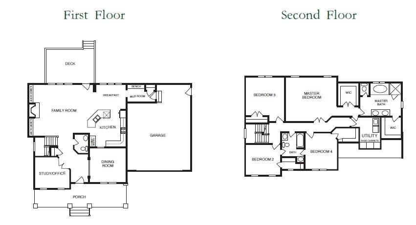 Windsor Floor Plans 1+2